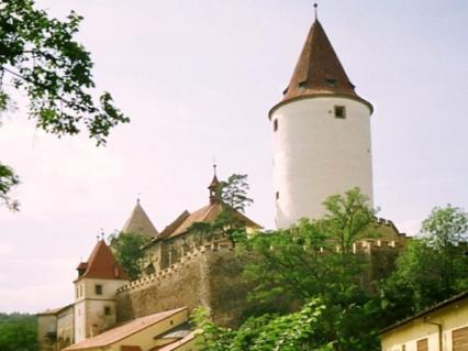 PRAGA i okolice (cykl artykułów): KŘIVOKLÁT  średniowieczna twierdza