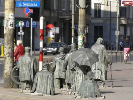 WROCŁAW - stolica Dolnego Śląska (cykl artykułów): Wrocławski Anonimowy Przechodzień