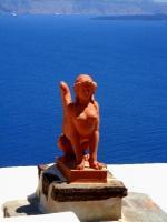 Grecja: Santorini - wyspa białych murów i błękitnych kopuł