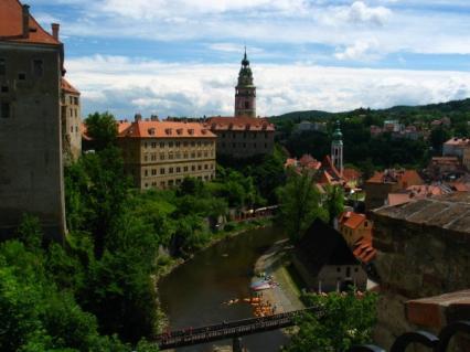 Czechy: CZESKI KRUMLOV - wisienka na czeskim torcie