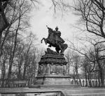 GDAŃSK. Wędrujący pomnik Sobieskiego